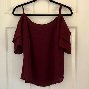 4/$10 NY&Co. Cold Shoulder Blouse